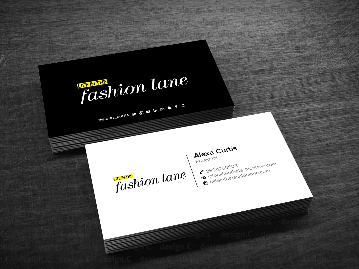 The best business card fonts to make you stand out – The Digital Agenda